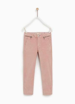 Велюровые брюки на девочку zara {134 см, }