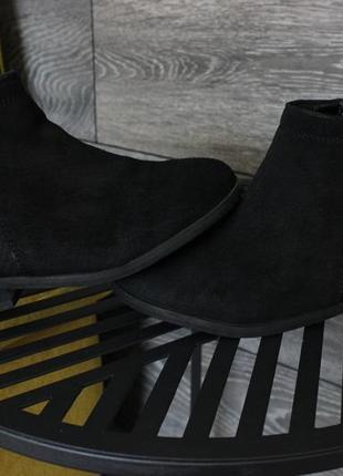 Ботинки next натур. замш на молнии 29 размер