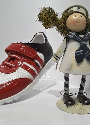 Распродажа !!! tiflani  кожаные туфельки кроссовки для девочки р.21, 22, 24, 25