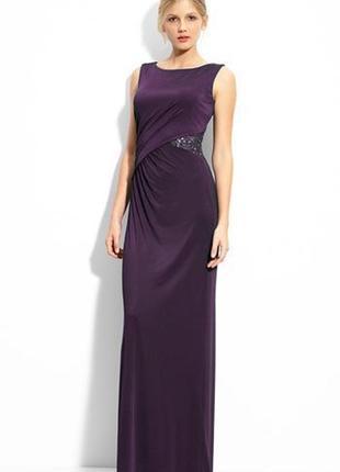 Js boutique роскошное вечернее платье, англ.6, xs