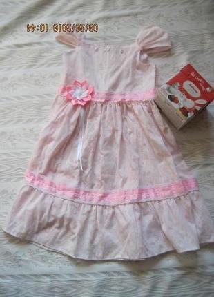 На выпускной в детский сад! легкое батистовое платье
