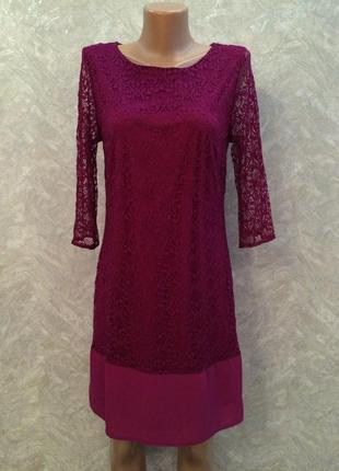 F&f роскошное кружевное платье, р.6, европ.34, xs