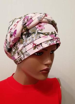 Чалма панама шапка сакура весна лето