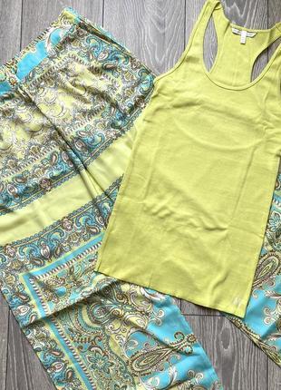 Комплект майка и брюки палаццо victoria's secret