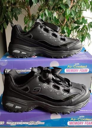 Skechers dlites ●р36,5-40● женские кроссовки, сникерсы. оригинал из сша.