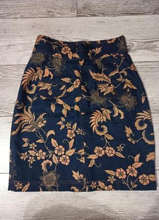 Стильна джинсова спідниця sylvia mayson 60 грн