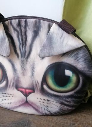 Сумка с мордочкой кота