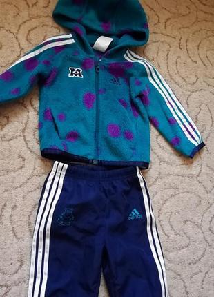 Спортивный костюм adidas (оригинал) 6-9мес,рост 74