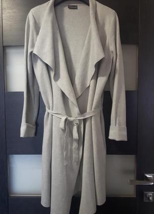 Серый кардиган # пальто street one