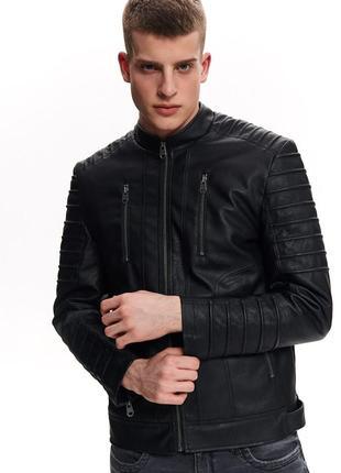 Куртка кожанка ветровка эко кожа top secret