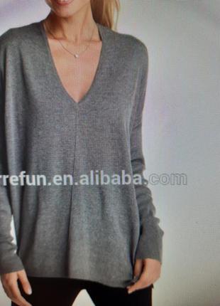Кашемировый свитер пуловер