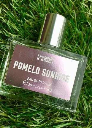 Духи pink pomelo sunrise 30мл стойкие стойкий парфюм виктория сикрет