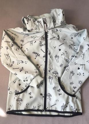 Куртка soft shell h&m
