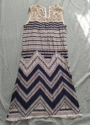 Платье сарафон бохо