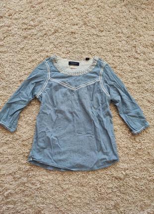 Рубашка блузка maison scotch