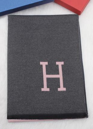 Кашемировый палантин шарф шаль в стиле hermes