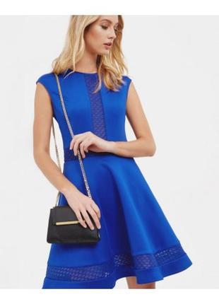 Красивое синее платье с карманами ted baker glorry