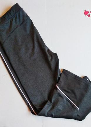Капри kiabi,лосины укороченные спортивные,одежда для фитнеса