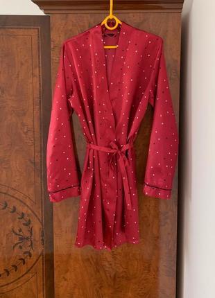Атласный халат sleepwear collection