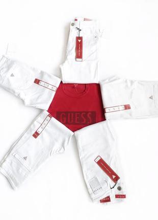 Белые джинсы guess оригинал