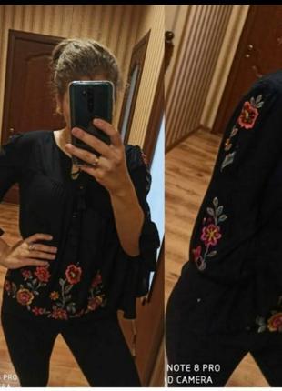 Вишукана, ніжна блуза з вишивкою