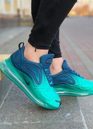 Nike air max 720 blue голубые ♦ женские кроссовки ♦ весна лето осень