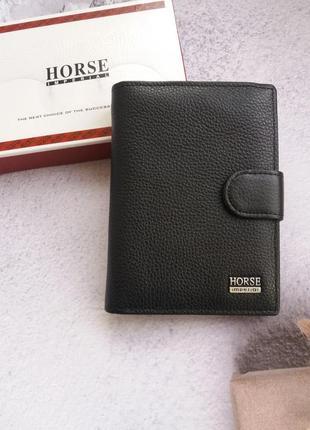 Кожаный кошелек портмоне кожаное чоловічий шкіряний гаманець