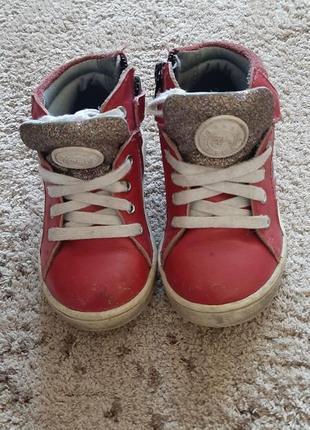 Ботинки кожаные французского производителя
