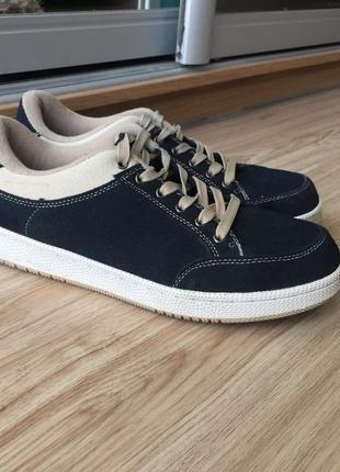 Замшевые  кроссовки