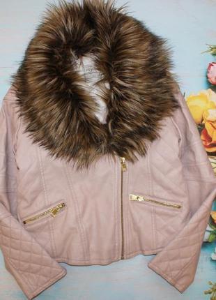 Шикарная куртка - косуха i love girlswear на 10-11лет