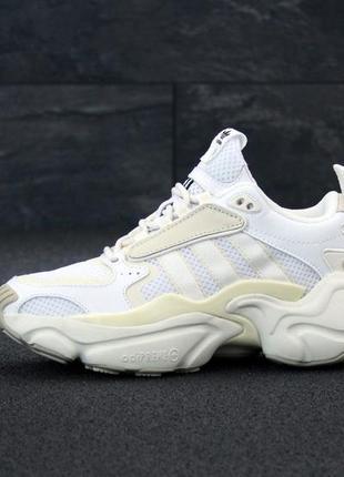 Adidas consortium шикарные женские кроссовки белый цвет (весна-лето-осень)😍