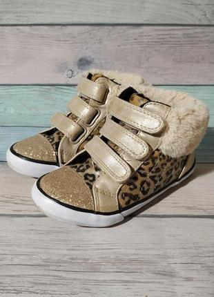 ♠️ демисезонные ботинки утепленные кеды сникерсы george 27 (17,5 см) ♠️