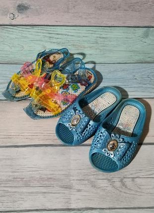 ♠️ набор летней обуви - шлепанцы и босоножки (13,5 см) ♠️
