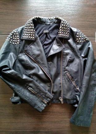 Женская куртка ,,косуха,, topshop