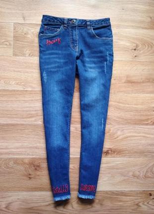 Модные джинсы скинни от george