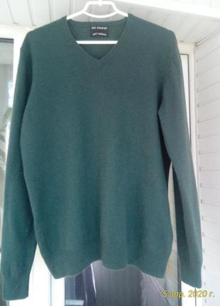 Кашемировый брендовый свитер marks spencer