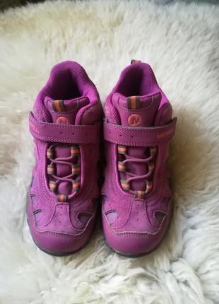 Трекинговые ботинки кроссовки merrell на девочку