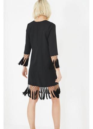 🔥 total sale 🔥оригинальное платье с кисточками прямого кроя lavish alice ms408