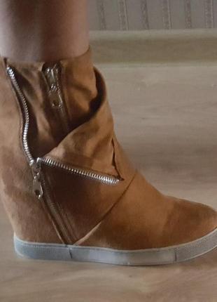 Оригинал.фирменные,стильные сникерсы-ботильоны-ботинки bellamica