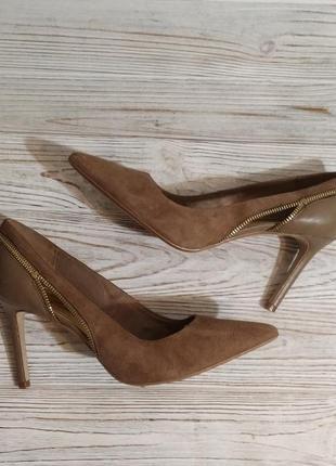 Кожаные туфли mark fisher