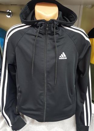 Толстовка кофта с капюшоном adidas