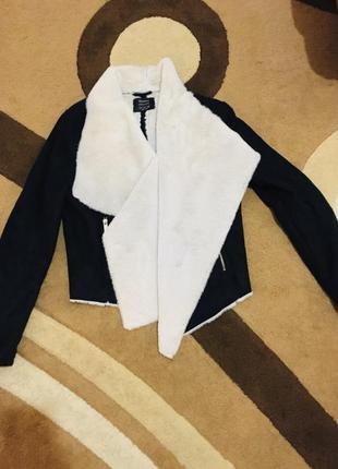 Куртка кофта кардиган мех