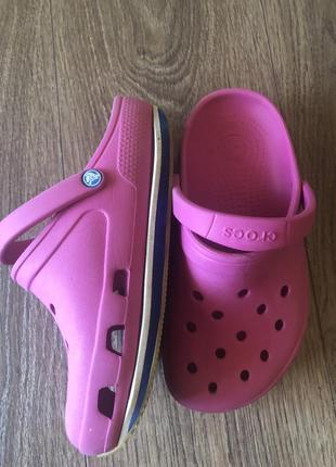 Crocs оригинал, размер 33-34 б/у.