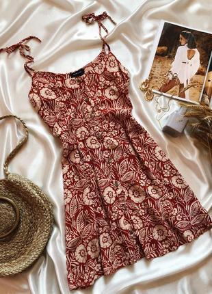 Сарафан/платье на пуговицах new look