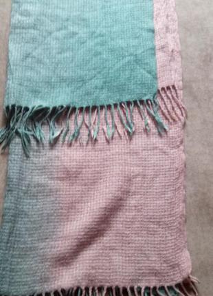 Теплый нарядный шарф-палантин, miraton