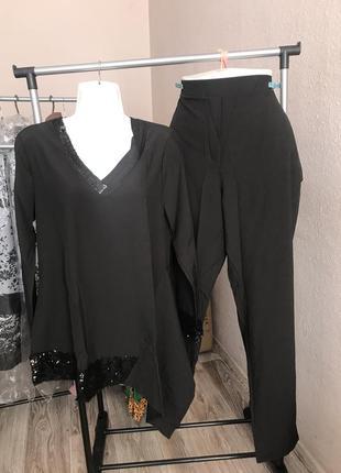 Костюм батальный кофта+брюки