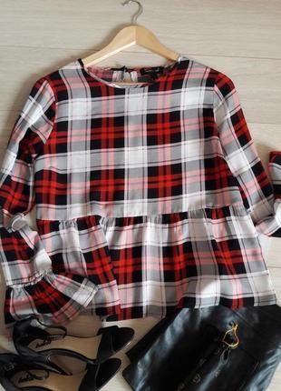 Стильная /блуза/рубашка/new look размер m