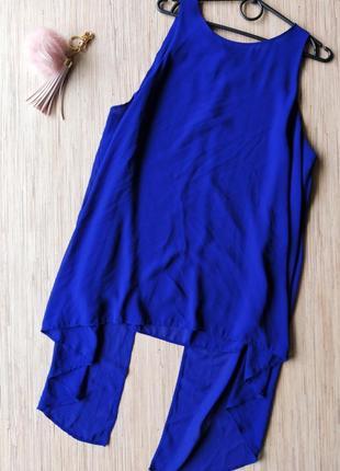 Красивая шифоновая блуза с разрезами и красивой спинкой