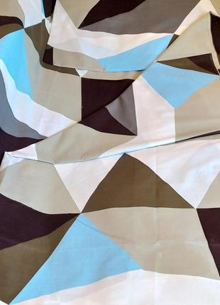 Пододеяльник из плотной бязи gold - цветные треугольники, все размеры, быстрая отправка