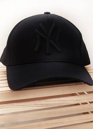 Бейсбока, кепка new york, чёрная надпись